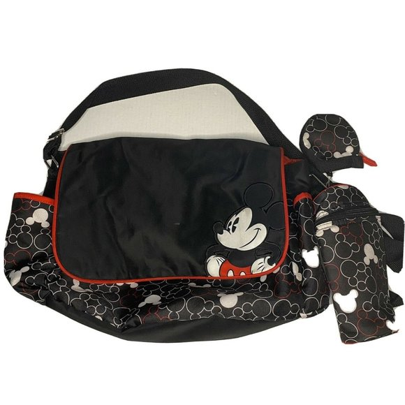 Disney Baby Mickey Mouse Diaper Bag Large